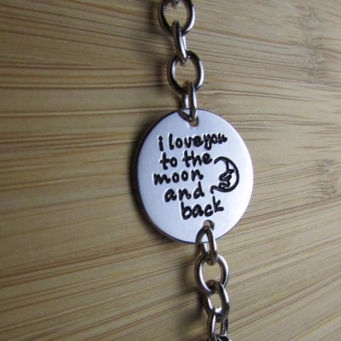 I Love You to the Moon and Back Exclusive Bracelet