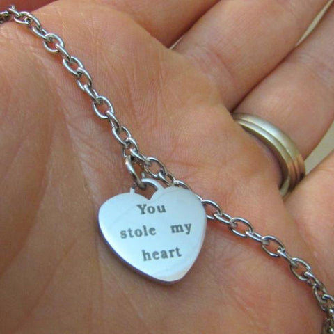You Stole My Heart - Bracelet