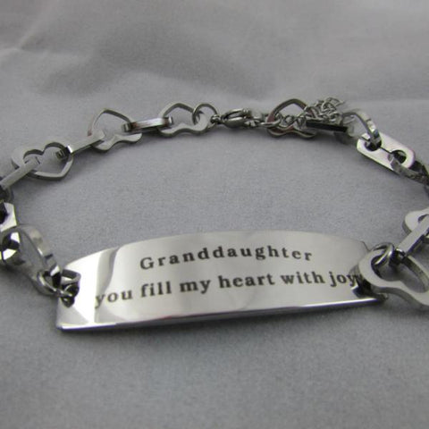 Granddaughter, You Fill My Heart With Joy - Bracelet (One time Offer)