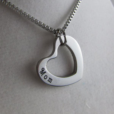 Mom necklace, single piece - part of three generation set. Extra Mom necklace only