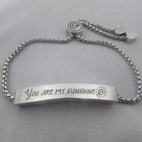 You Are My Sunshine - Lariat Style Bracelet