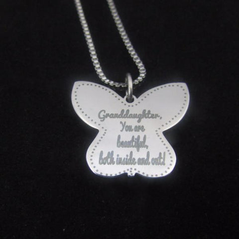 Granddaughter, You Are Beautiful - Necklace