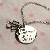 I'm Grandma's Little Angel - Necklace