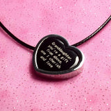 'Granddaughter, you're a gift from above, one I cherish and love' Necklace