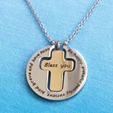 Be Happy, Grateful... - Cross Necklace