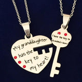 The Key to Grandma's Heart - Two Necklace Set
