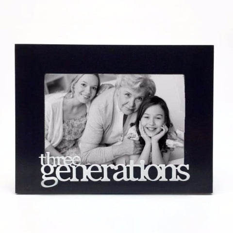 Three Generations - Table Top Picture Frame