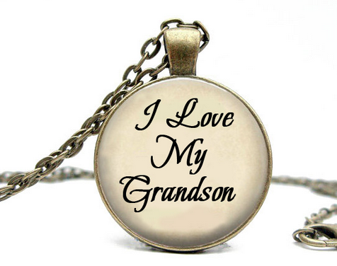 'I Love My Grandson' Pendant (Only 50 Ever Made)