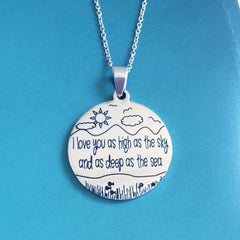 As High as the Sky, and as Deep as the Sea - Necklace