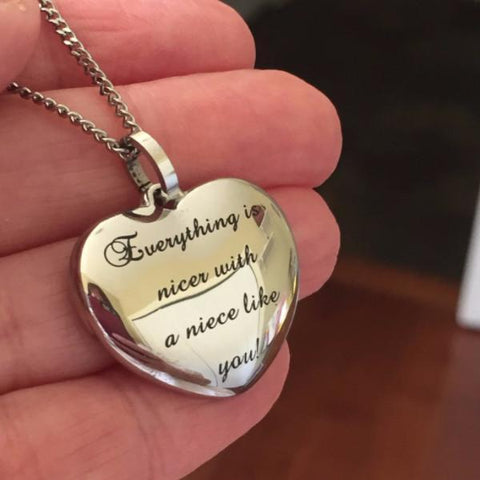 Everything is nicer with a niece like you - Necklace