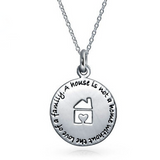A House Is Not a Home - Necklace