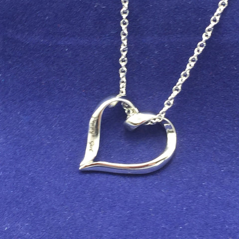 Poppy's Girl - Heart Necklace