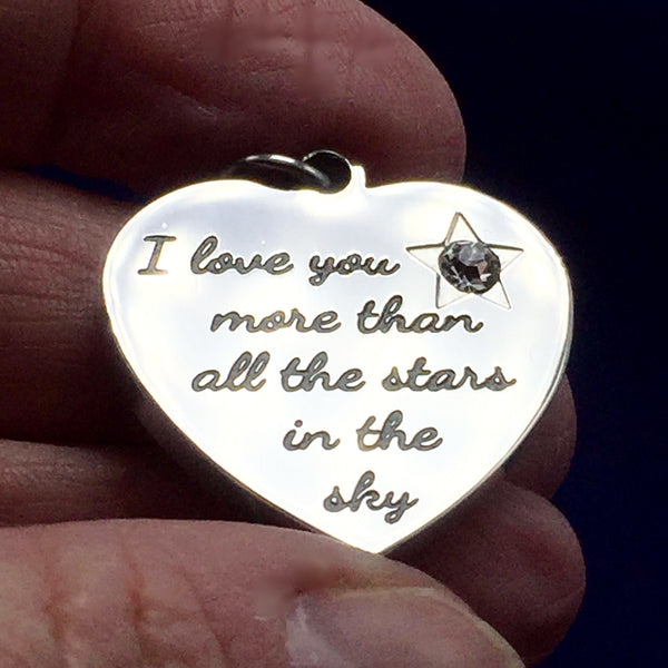 I Love You More Than All The Stars In The Sky Necklace