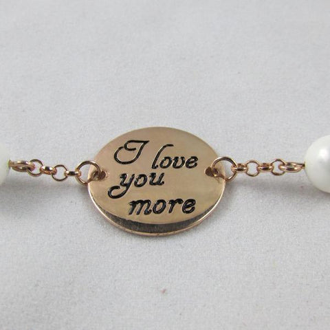 I Love You More - Bracelet