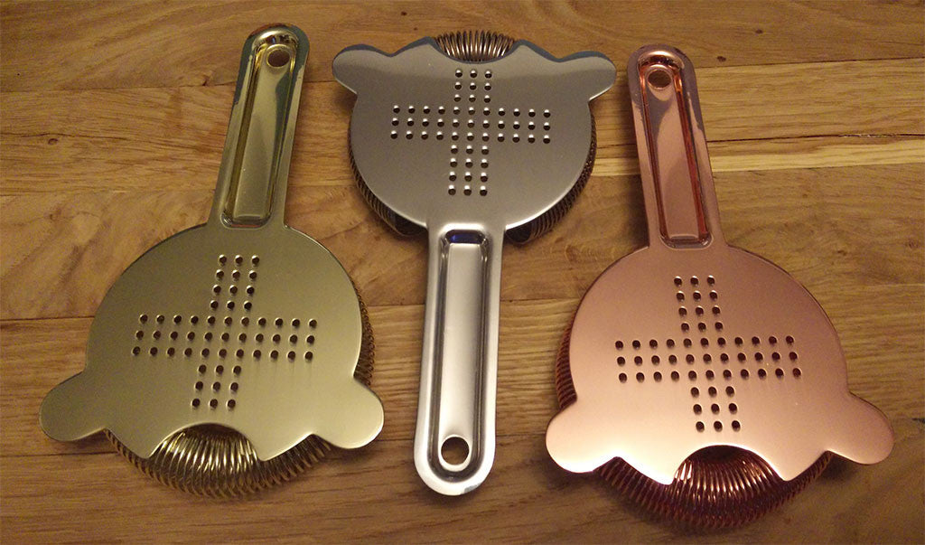 Japanese Hawthorne Strainer - Copper Finish