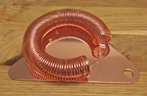 Triangle Strainer - Copper Finish