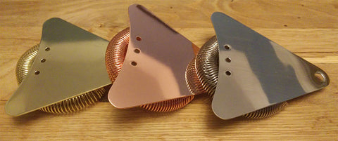 Triangle Strainer - Gold Finish