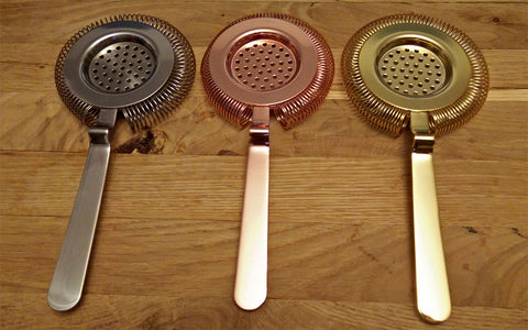 European Style Hawthorne Strainer - Mirror Finish
