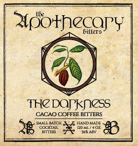 Apothecary The Darkness Cacao Coffee Bitters