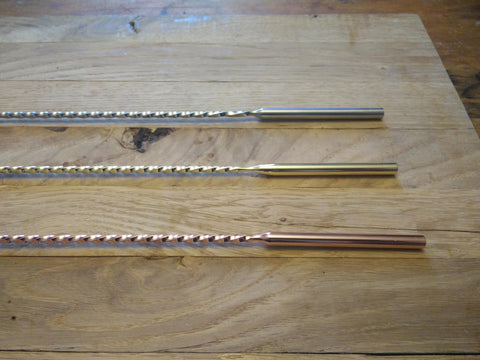 40cm Barspoon with Dowel gold