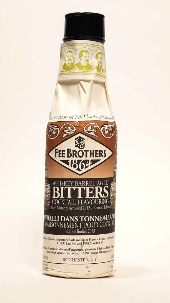 Fee Brothers Whiskey Barrel-Aged Bitters