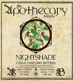 Apothecary Nightshade Chile Chicory Bitters
