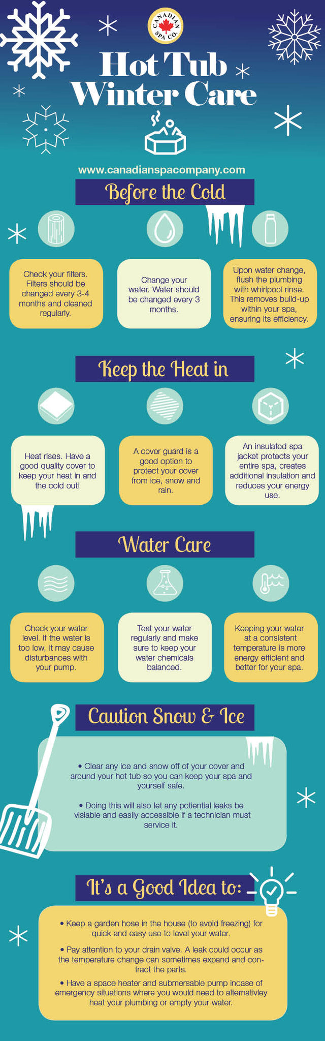 Winter Care Infographic