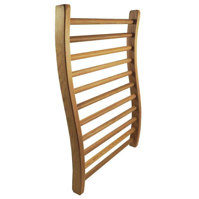 Hemlock Wood Backrest for Saunas