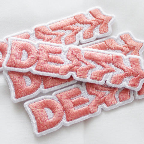 DEATH EMBROIDERED PATCH