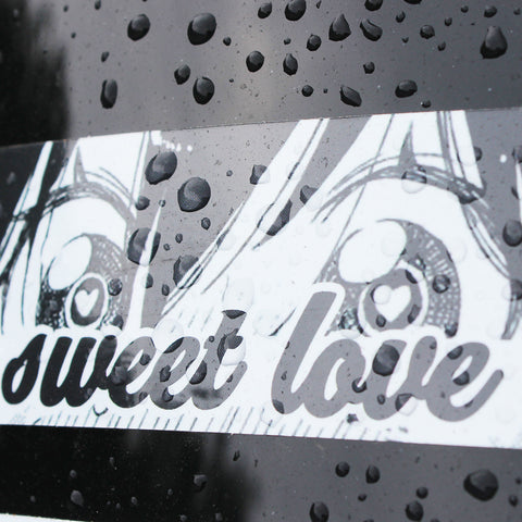 SWEET LOVE VINYL STICKER