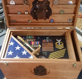 Standard sized Sea Chest \ Foot Locker Local Pick Up Only