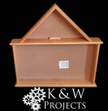 Dog House Shadow Box 26x26 Cherry