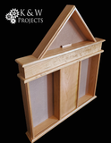 Dog House Shadow Box 28x33.25 Cherry