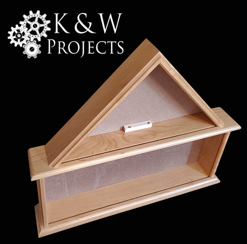 Dog House Shadow Box 24x20 Cherry