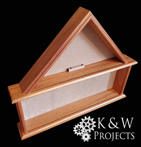 Dog House Shadow Box 24x20 Mahogany