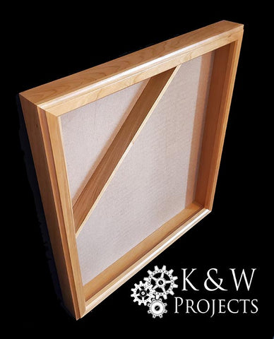 Picture Frame Shadow Box 20x24 Cherry