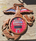 USMC Eagle Globe and Anchor Shadow Box