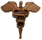 Medical Caduceus Shadow Box