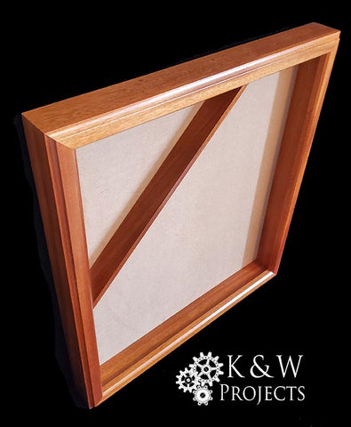 Picture Frame Shadow Box 20x24 Mahogany
