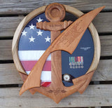 Navy Counselor NC Shadow Box