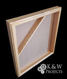 Picture Frame Shadow Box 20x24 Oak