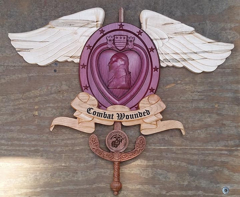 Combat Wounded Purple Heart