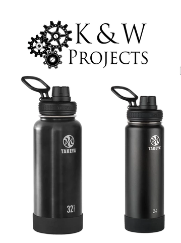 24oz and 32oz Actives Thermoflask Insulated Stainless Water Bottle