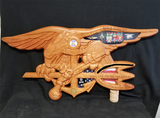 U.S. Navy SEAL Trident shadow Box