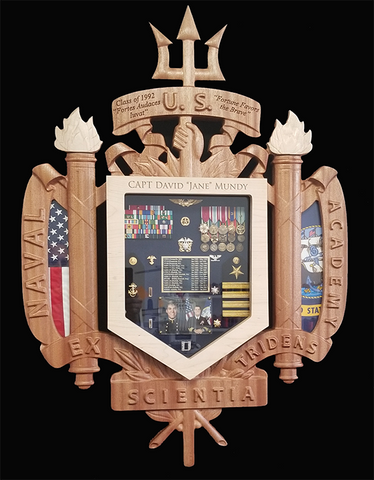 US Naval Academy Shadow Box