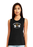 Barbells and Bullies Next Level Ladies' Festival Muscle Tank