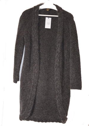 Long Cardigan Angélique Grey