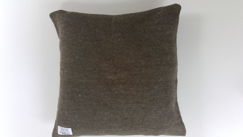 Pillow Case Brown 40x40 (x)