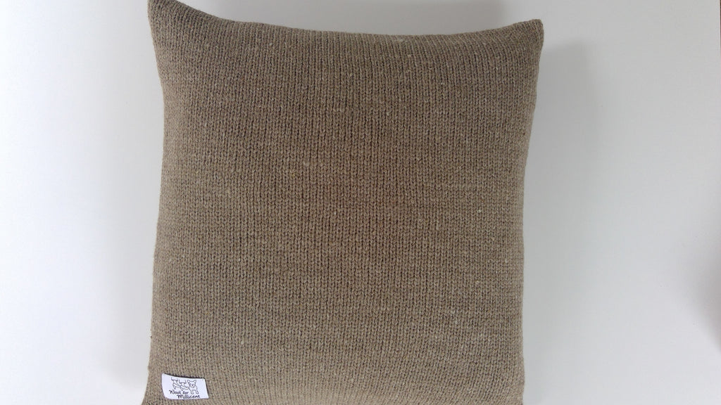 Pillow Case Light Brown 45x45 (xx)