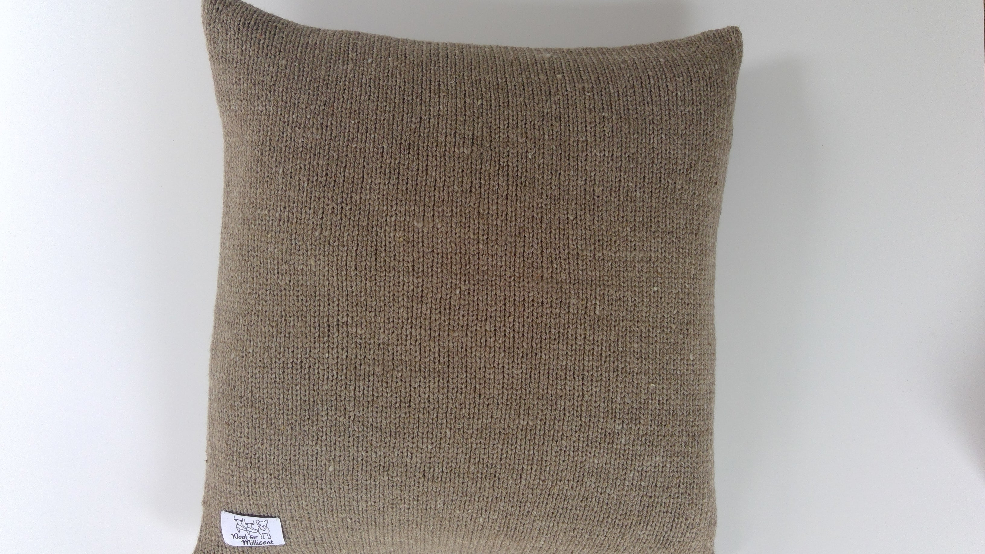 Set of 4 Pillow Case Light Brown